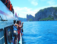 PP Khai Island Luxury Boat by JC Tour