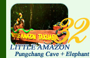 Little Amazon and Pungchang Cave and Elephant Nature Park