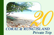 Coral & Rung Island Private Trip