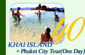 Khai Island and Phuket City Tour