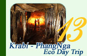 Krabi and Phangnga Eco Day Trip