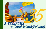 3 Temples Coral Island Private
